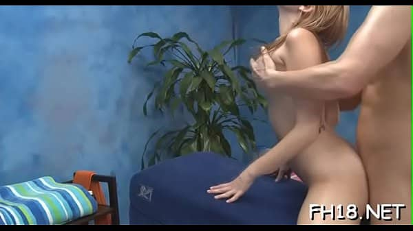 Cute 18 year old asian girl gets fucked hard by her massagist
